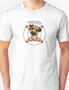 Border Terrier :: First Mate Unisex T-Shirt