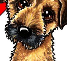 Border Terrier :: First Mate Sticker