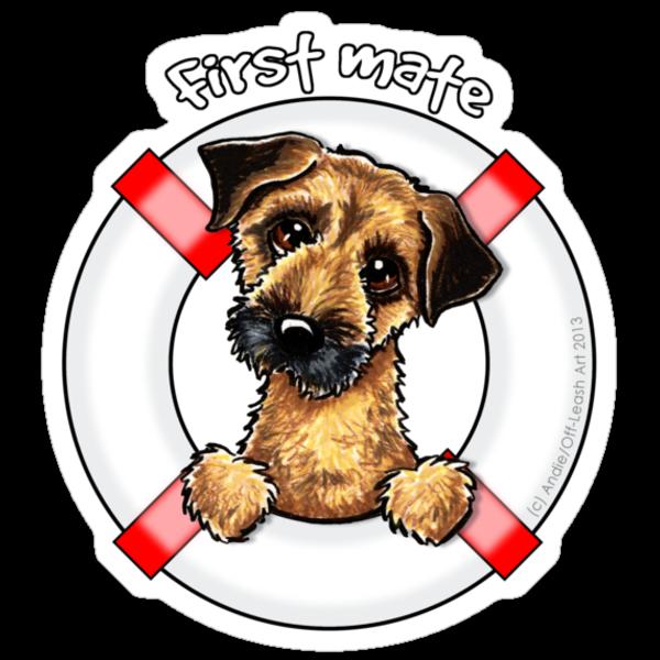 Border Terrier :: First Mate by offleashart