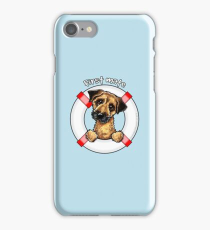 Border Terrier :: First Mate iPhone Case/Skin