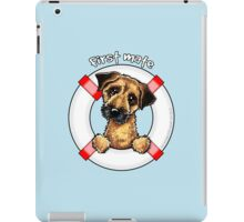 Border Terrier :: First Mate iPad Case/Skin