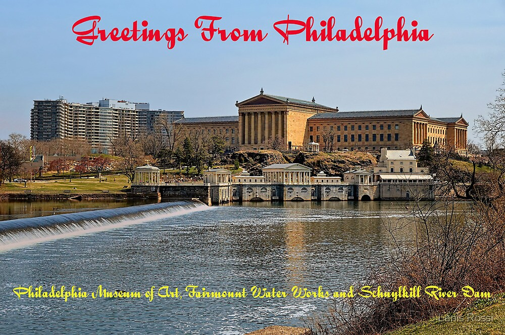 Postcard From Philadelphia by Lanis Rossi