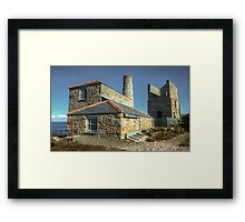 Levant Tin mine & beam engine Framed Print