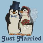 Penguin Wedding - Just Married by SpiceTree