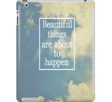 Beautiful Things iPad Case/Skin