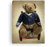 Admiral Bear Canvas Print