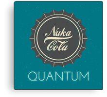 Nuka Cola Quantum Canvas Print
