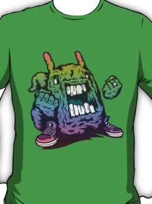 Rainbow Monster Illustration. T-Shirt
