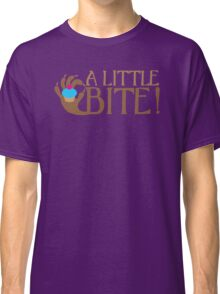 A LITTLE BITE! CAFE Shifter wolf hand and cupcake Classic T-Shirt