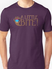 A LITTLE BITE! CAFE Shifter wolf hand and cupcake Unisex T-Shirt