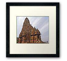 Kandariya Mahadeva Temple (Khajuraho) Framed Print