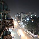 Chandanpura Mosque by Night by BlackhawkRogue