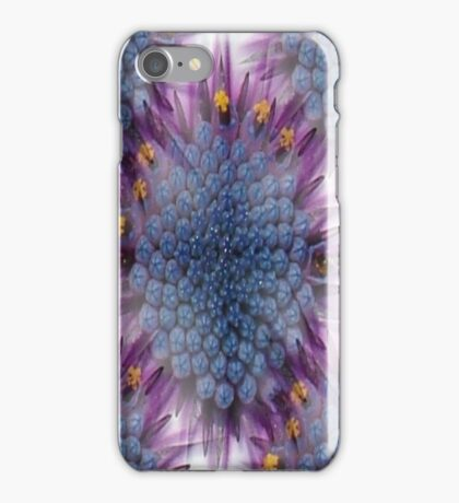 Stunning African Daisy Tropical Flower Macro Seamless Image iPhone Case/Skin
