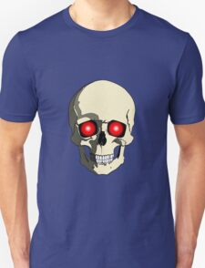 Skull With Red Eyes T-Shirt