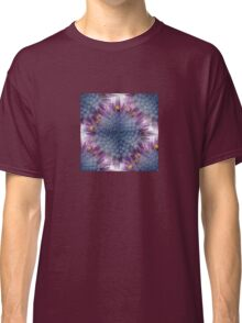 Stunning African Daisy Tropical Flower Macro Seamless Image Classic T-Shirt