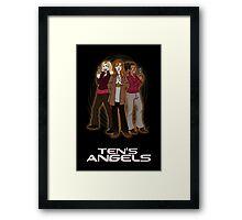 Ten's Angels Framed Print