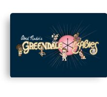 Greendale Babies Canvas Print
