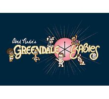 Greendale Babies Photographic Print