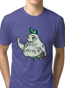 Thug Life Character. Tri-blend T-Shirt