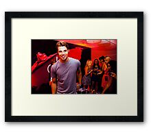 VIP -- Drinks on Josh Henderson Framed Print