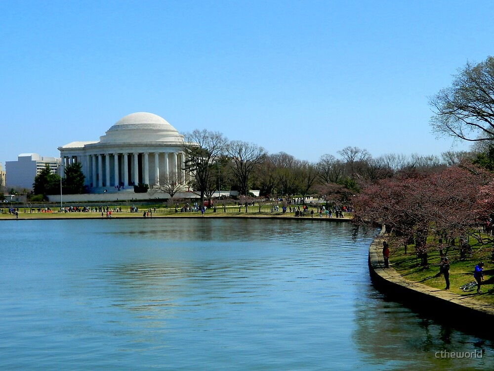 On the Potomac in Springtime - Washington, DC by ctheworld