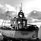 Favourite Boat At Lyme Dorset- UK by lynn carter