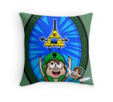 Hyrule Falls Throw Pillow