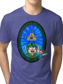 Hyrule Falls Tri-blend T-Shirt