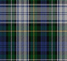 01885 Campbell of Loch Neil Dress Clan/Family Tartan Fabric Print Iphone Case by Detnecs2013