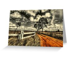 No Through Road... Greeting Card