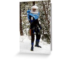 The Ice Man Cometh Greeting Card
