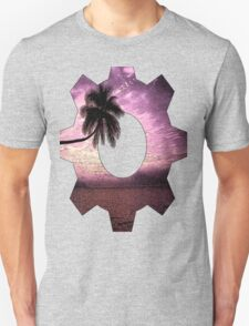 Palm tree ink pattern T-Shirt