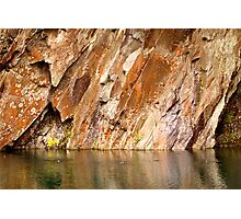 Inside Rydal Cave  Photographic Print