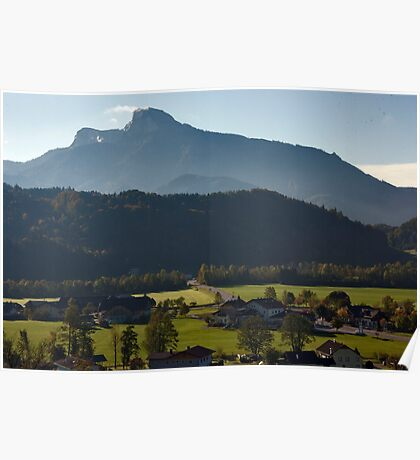 Austrian Country Side Poster