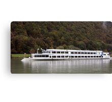 Passau From The Danube Canvas Print