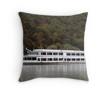 Passau From The Danube Throw Pillow