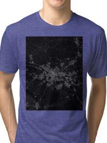 Glasgow map scotland Tri-blend T-Shirt