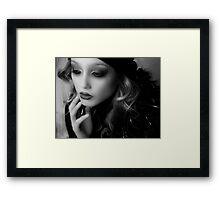 BIBA GIRL 5 Framed Print