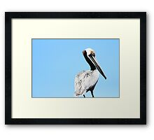 His Creatures Framed Print