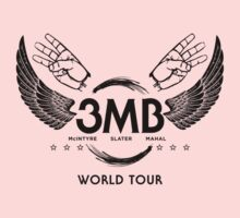 3MB World Tour (WWE) (for light shirts) by Bob Buel