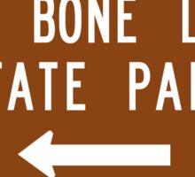 Big Bone Lick State Park, Kentucky, USA Sticker