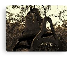 Rusted Bell Canvas Print