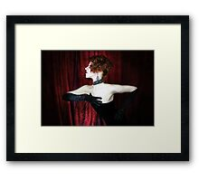 Wide Screen Glamour Framed Print
