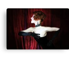 Wide Screen Glamour Canvas Print