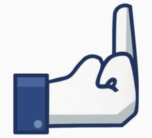 Facebook Finger by dtdream