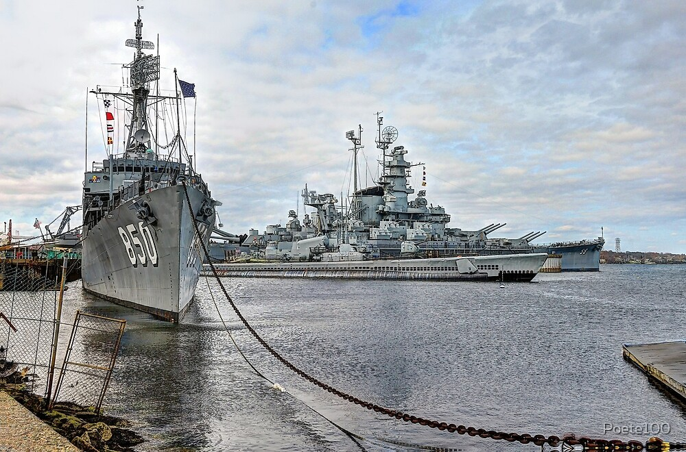 Battleship Cove (HDR) by Poete100