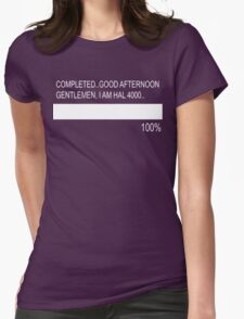 RAM Design I'm Hal 4000 Plate #19 Womens Fitted T-Shirt