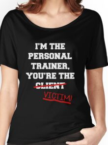 Personal Trainer Proud Women's Relaxed Fit T-Shirt