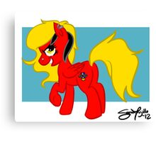 Camaro Pony Canvas Print