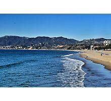 Santa Monica Bay Photographic Print